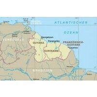 Reise Know How Wegenkaart Suriname