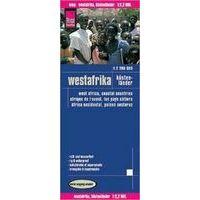 Reise Know How Wegenkaart West-Afrika Kustlanden