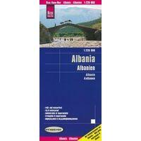 Reise Know How Wegenkaart Albanië