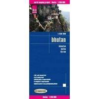 Reise Know How Wegenkaart Bhutan