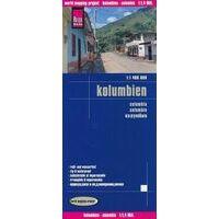 Reise Know How Wegenkaart Colombia