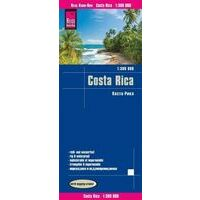Reise Know How Wegenkaart Costa Rica