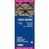 Reise Know How Wegenkaart India Noordoost