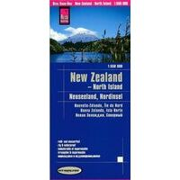Reise Know How Wegenkaart New Zealand North Island 1:550.000