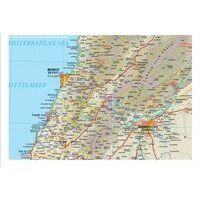 Reise Know How Wegenkaart Syrië - Libanon