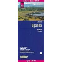 Reise Know How Wegenkaart Uganda Oeganda