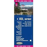 Reise Know How Wegenkaart USA 4 Noord Oost
