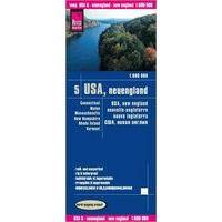 Reise Know How Wegenkaart USA 5 New England