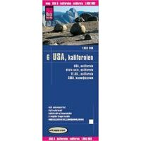 Reise Know How Wegenkaart USA 6 Californië