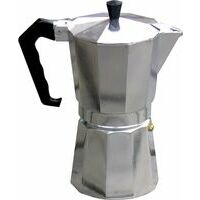 Relags Espresso Maker Stainless Steel 6 Cups