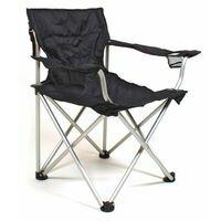 Relags Travelchair Komfort Aluminium Black Campingstoel