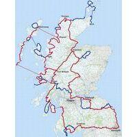 Europafietsers Fietsroute Schotland Rond Deel 1