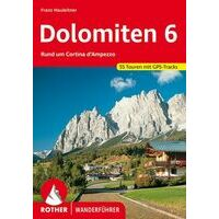 Rother Wandelgids Dolomiten 6 - Cortina D'Ampezzo