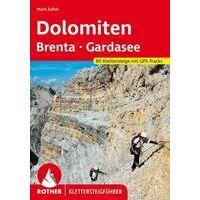 Rother Klettersteige Dolomiten Brenta Gardasee
