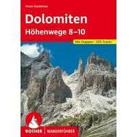Rother Wandelgids Dolomiten Höhenwege 8-10