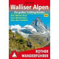 Rother Trekkinggids Walliser Alpen