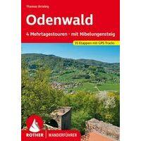 Rother Wandelgids Odenwald - 4 Trektochten