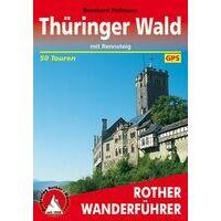 Rother Wandelgids Thüringer Wald Mit Rennsteig