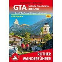 Rother Wandelgids Grande Traversi Alpi