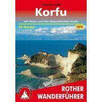 Rother Wandelgids Korfu - Korfoe