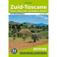 Rother Nederlandstalig Wandelgids Zuid-Toscane