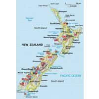 Rother Wandelgids Neuseeland