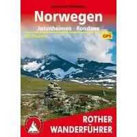 Rother Wandelgids Norwegen Jotunheimen - Rondane