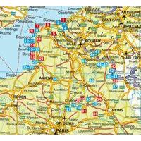 Rother Wandelgids Picardie - Nordfrankreich
