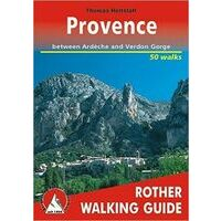 Rother Wandelgids Provence Walking Guide