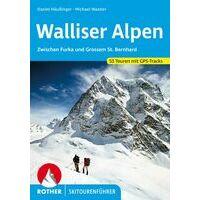 Rother Skitourenführer Walliser Alpen