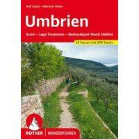 Rother Wandelgids Umbrien Umbrië - 46 Touren