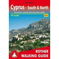 Rother Wandelgids Walking Guide Cyprus