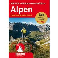 Rother Wandelgids Alpen 100 Touren-Highlights