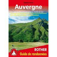 Rother Wandelgids Auvergne Guide Rando (Franstalig)