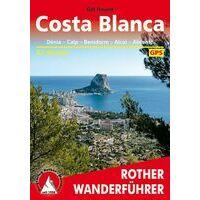Rother Wandelgids Costa Blanca - Denia - Calpe