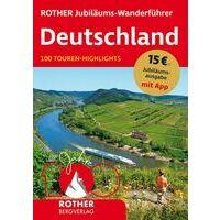 Rother Wandelgids Deutschland 100 Touren-Highlights