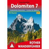 Rother Wandelgids Dolomiten 7: Sudostliche Dolomiten