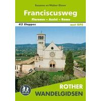 Rother Wandelgids Franciscusweg Florence - Assisi - Rome