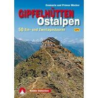 Rother Wandelgids Gipfelhütten Ostalpen