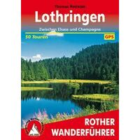 Rother Wandelgids Lotharingen Champagne