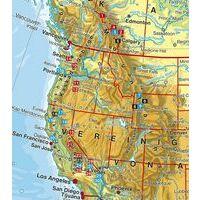 Rother Wandelgids Nordamerika West Toptrails