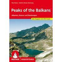 Rother Wandelgids Peaks Of The Balkans