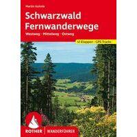 Rother Wandelgids Schwarzwald Fernwanderwege