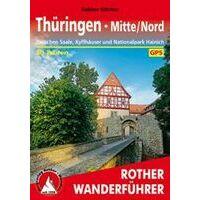 Rother Wandelgids Thüringen Mitte / Nord