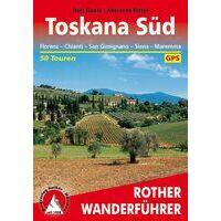 Rother Wandelgids Toskana Süd - Toscane Zuid