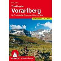 Rother Wandelgids Trekking In Vorarlberg - 5 Huttentochten
