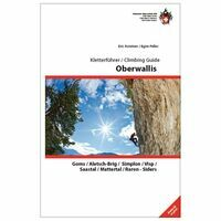 SAC Kletterführer / Climbing Guide Oberwallis