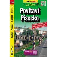 Shocart Maps Fietskaart 136 Povltavi Pisecko