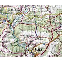 Shocart Maps Fietskaart 137 Taborsko Tsjechië