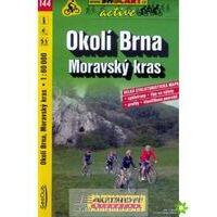 Shocart Maps Fietskaart 144 Okoli Brna - Moravsky Kras